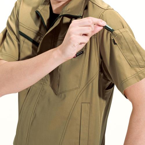袖ペンポケット