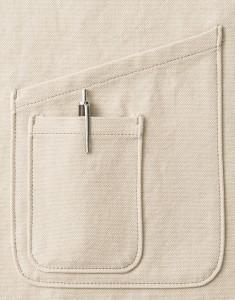 大小2つのポケット