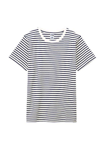 MS1141B 5.3オンス ユーロボーダーTシャツ