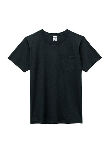MS1141P 5.3オンス ユーロポケット付Tシャツ