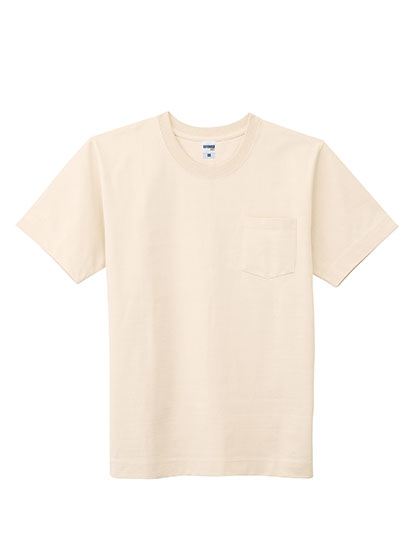 MS1151 10.2オンス スーパーヘビーウェイトポケット付Tシャツ