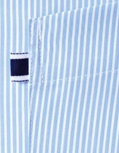 サイドポケット 7ブルー
