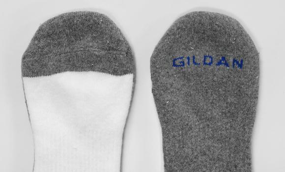 GILD-A0751   クルーソックス 6足1パック