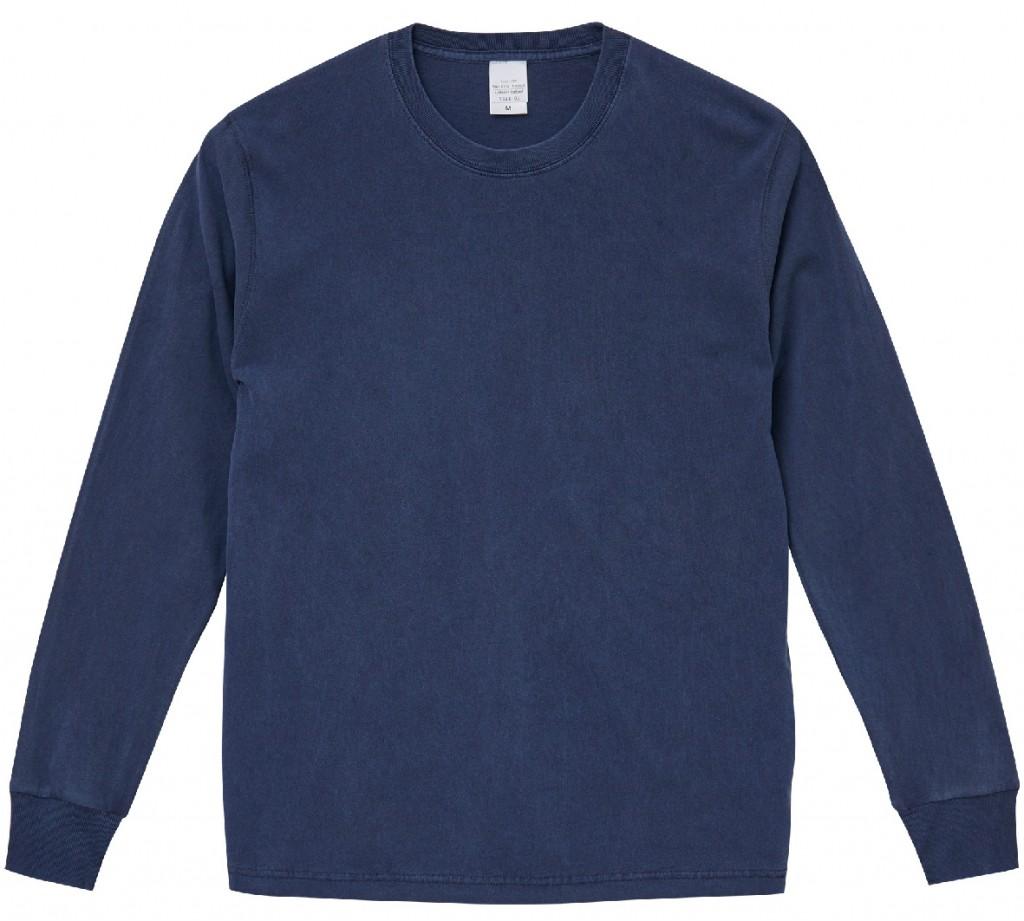 5021-01,  5.6オンス ピグメントダイ ロングスリーブ Tシャツ
