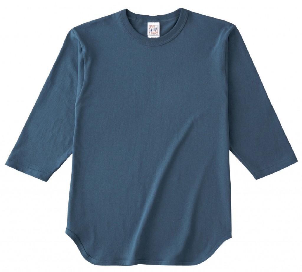 OE1230 オープンエンド 3/4スリーブ ベースボール Tシャツ(リブ無し)