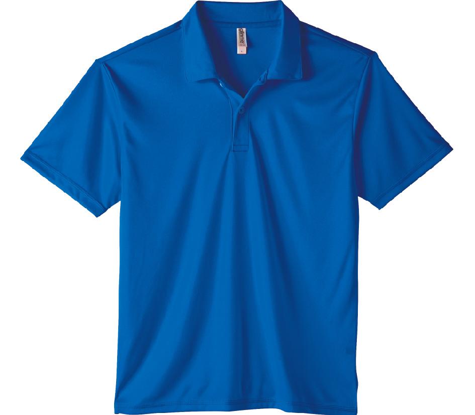 00351-AIP インターロック ドライポロシャツ