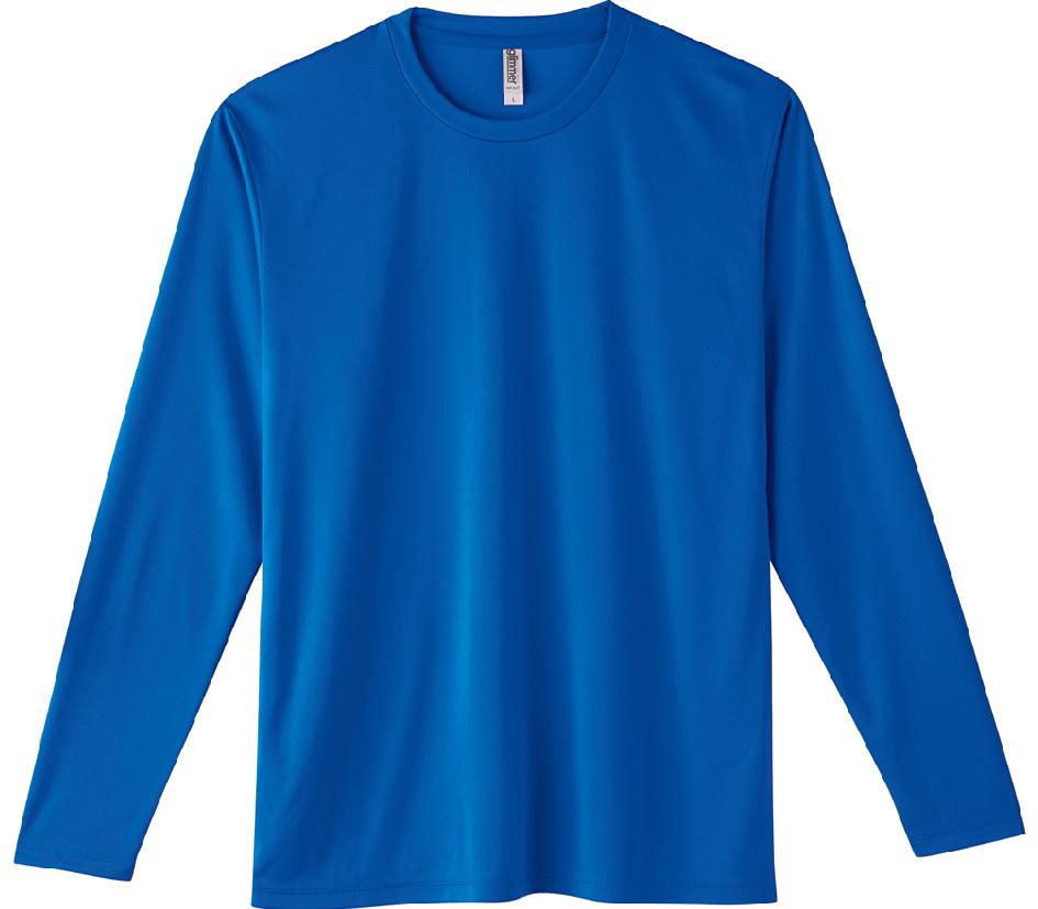 00352-AIL 3.5オンス インターロック ドライロングスリーブTシャツ