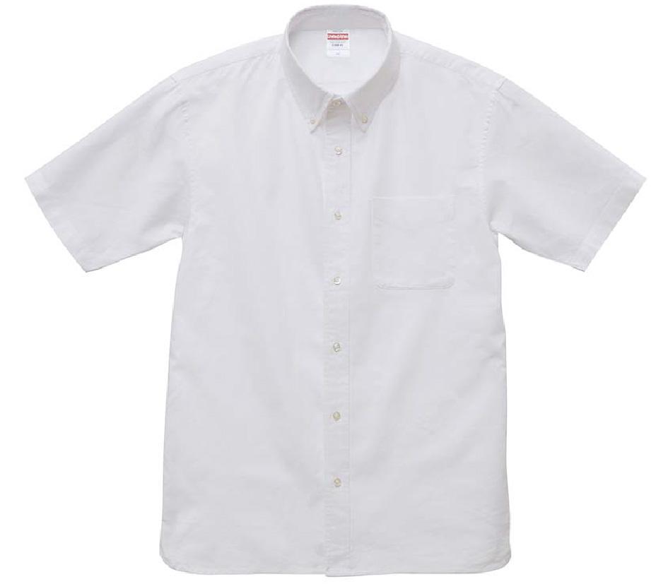 1268-01  オックスフォード ボタンダウン ショートスリーブシャツ