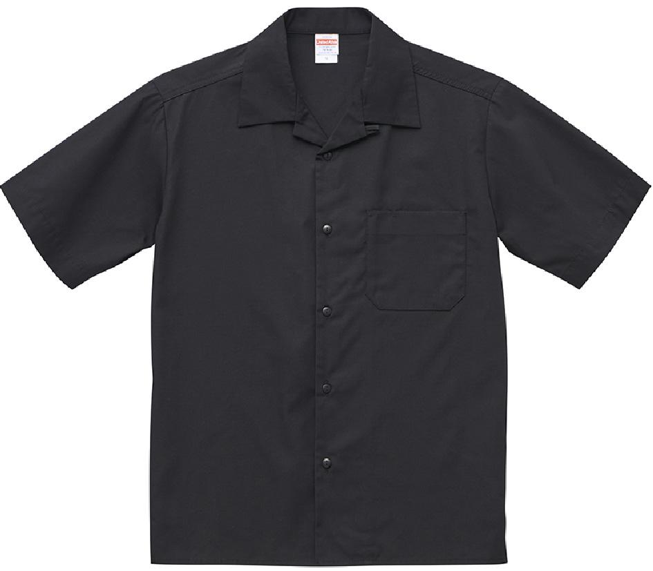 1759-01  T/C オープンカラー シャツ