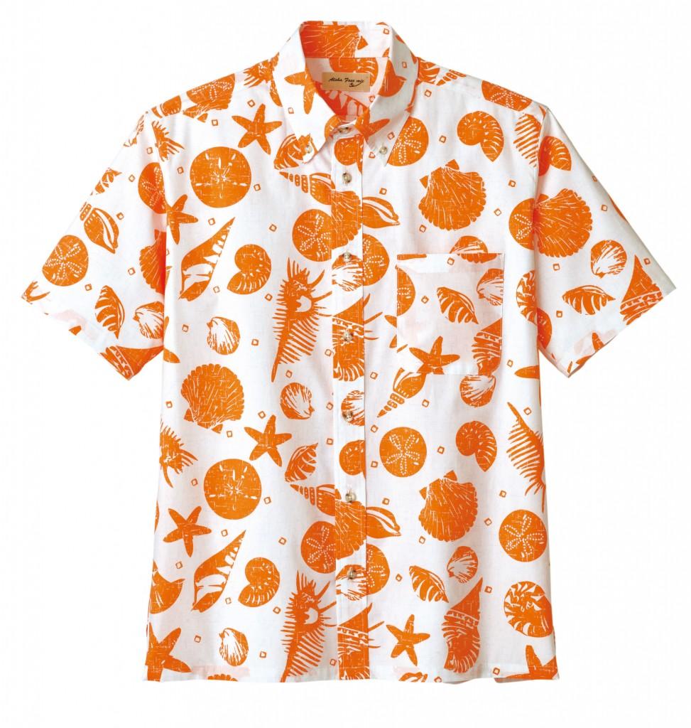 FB4541U アロハシャツ(貝柄)