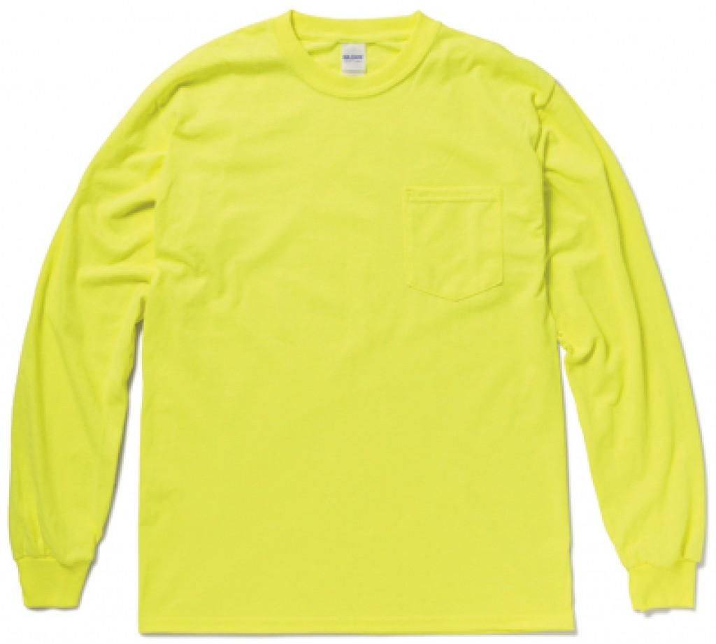 GIL2410 ウルトラコットン ロングスリーブTシャツ(ポケット付)