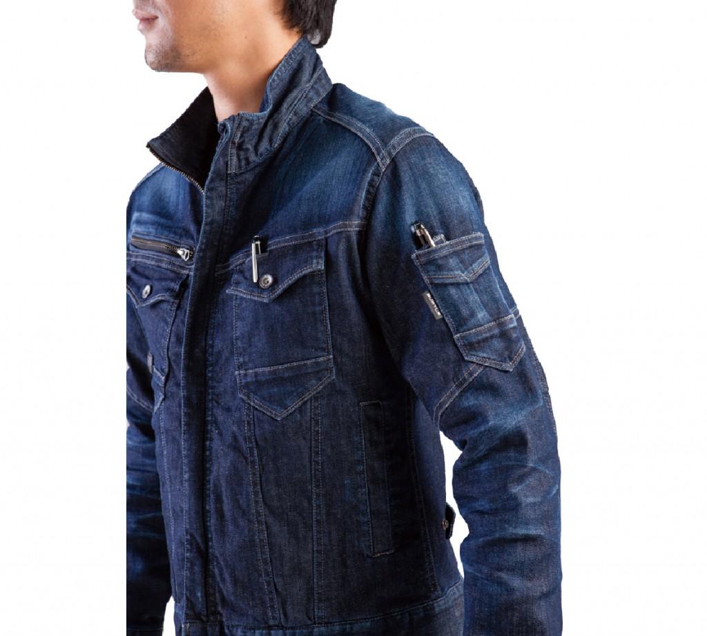 左胸・袖ポケット