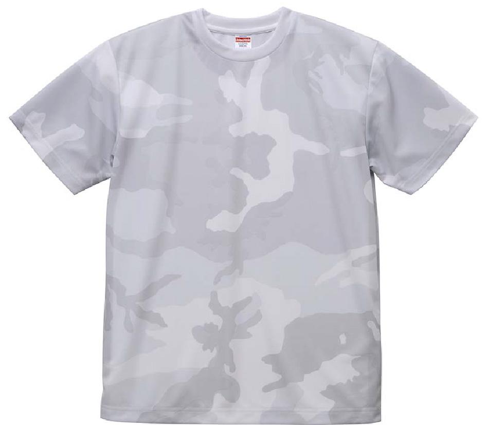 5906-01 4.1オンス ドライ アスレチックカモフラージュTシャツ