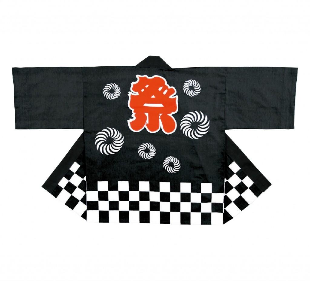 36900 獅子毛紋入祭袢天