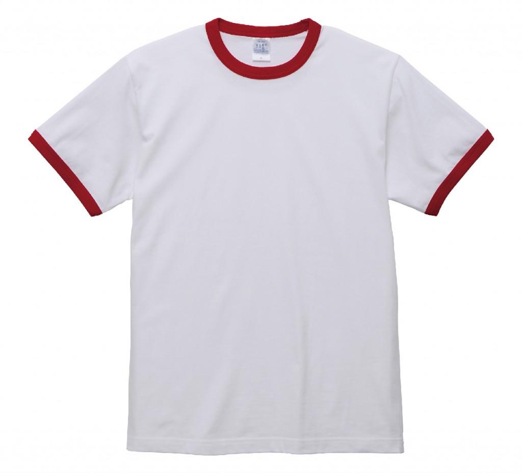 5030-01 5.6オンス リンガーTシャツ