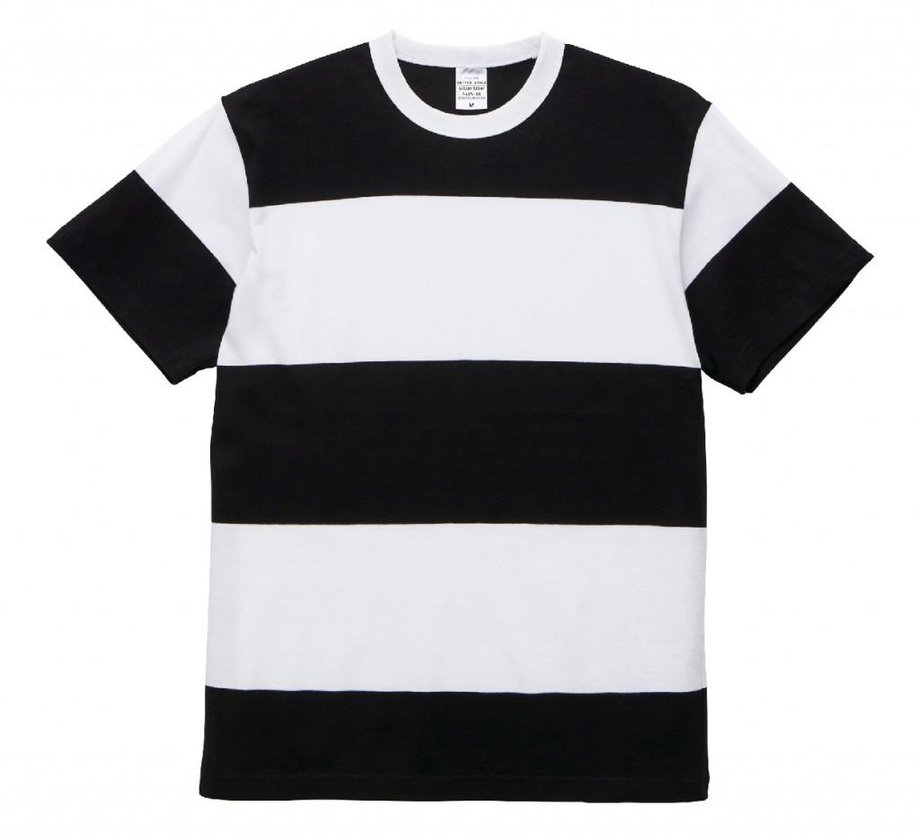 5625-01 5.6オンス ボーダーTシャツ