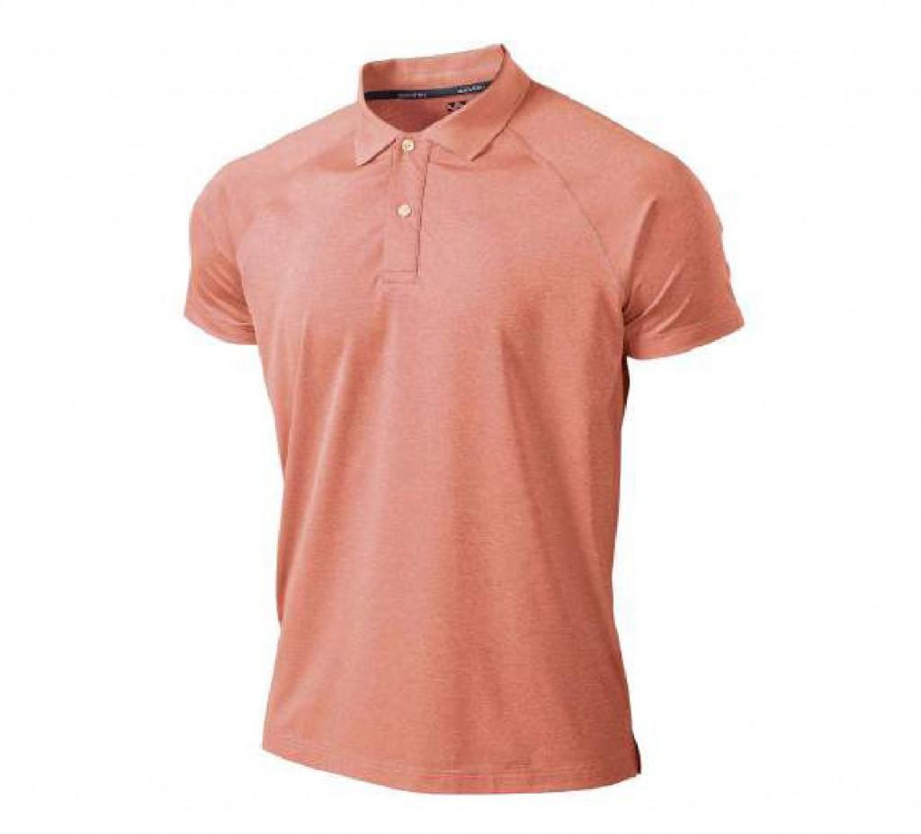 P815 フィットネスストレッチポロシャツ