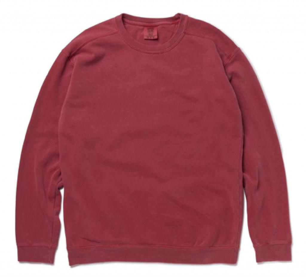 CC1566 Garment Dyed 9.5oz Crewneck Sweatshirt ※注意事項あり