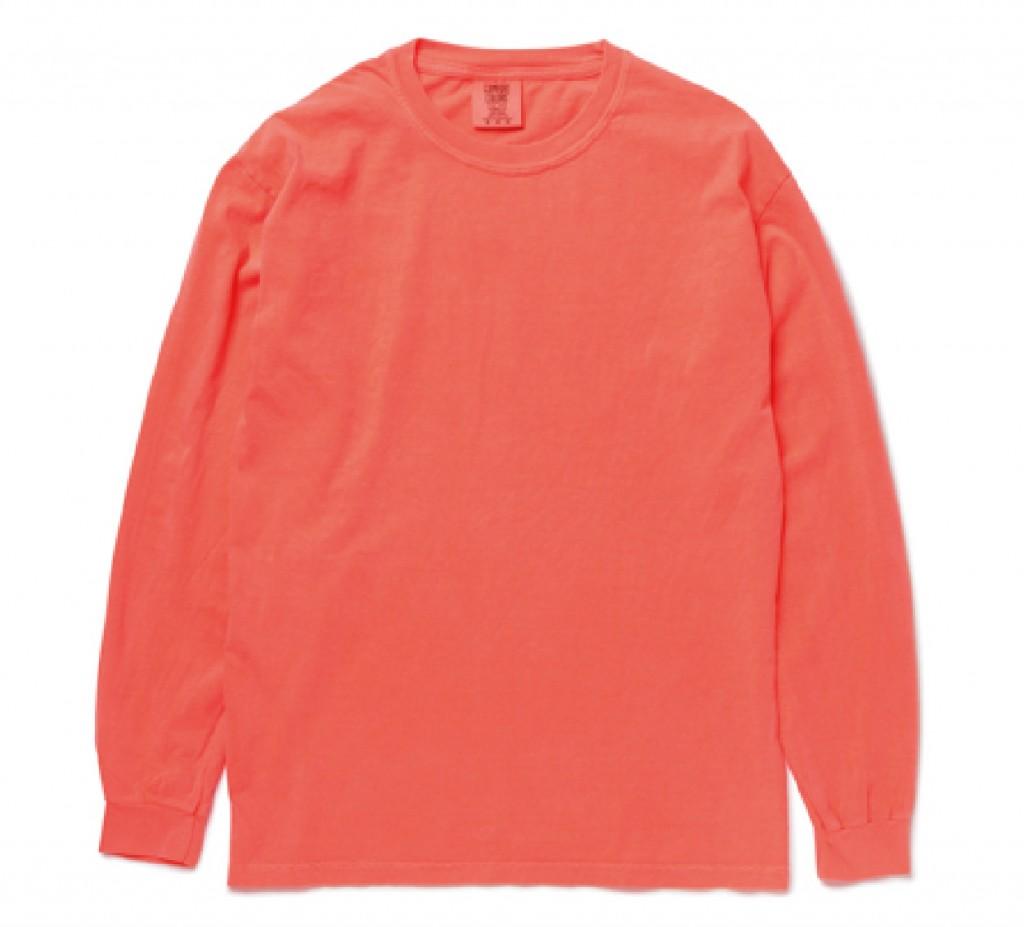CC6014 Garment Dyed 6.1oz Long Sleeve Tee ※注意事項あり
