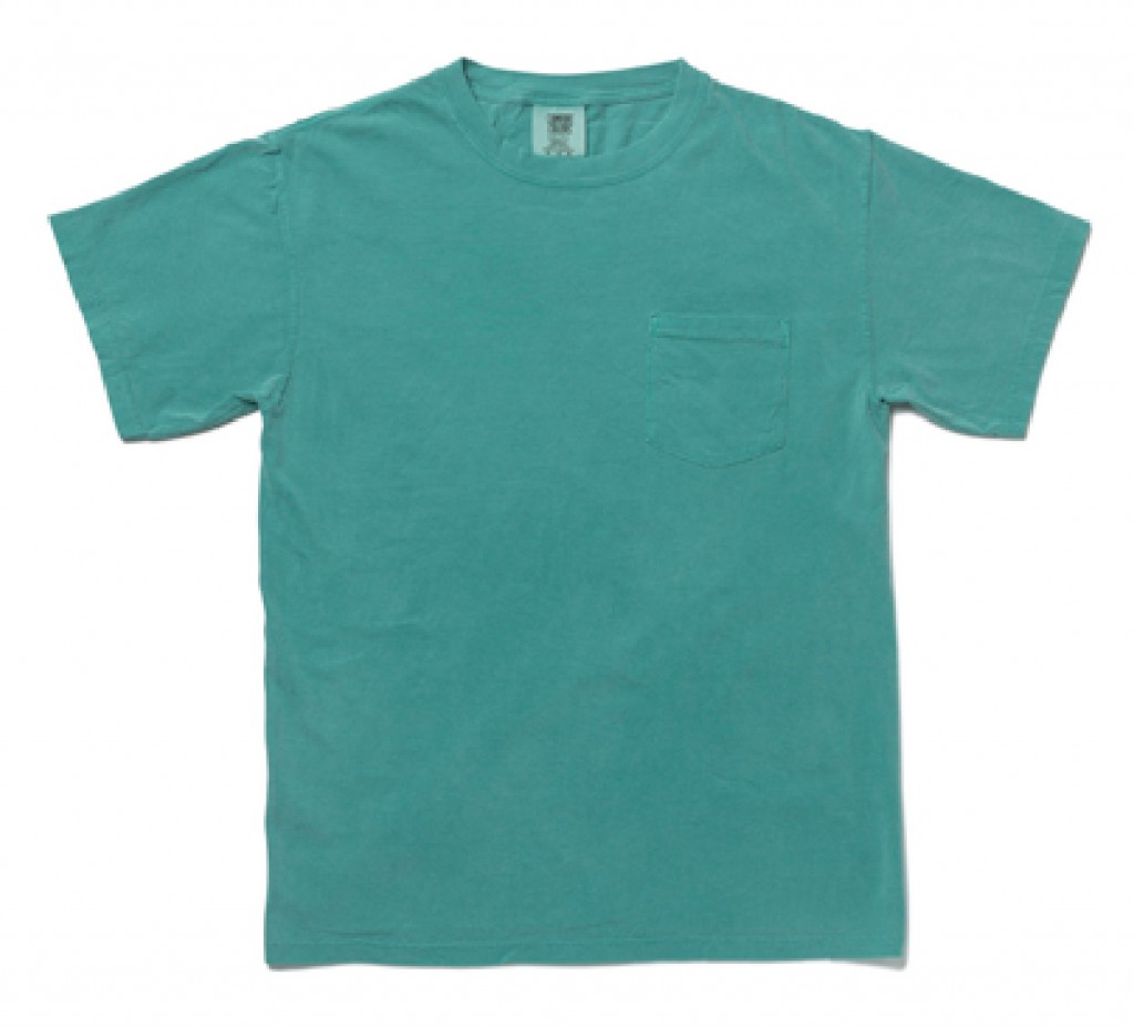 CC6030 Garment Dyed 6.1oz Pocket Tee