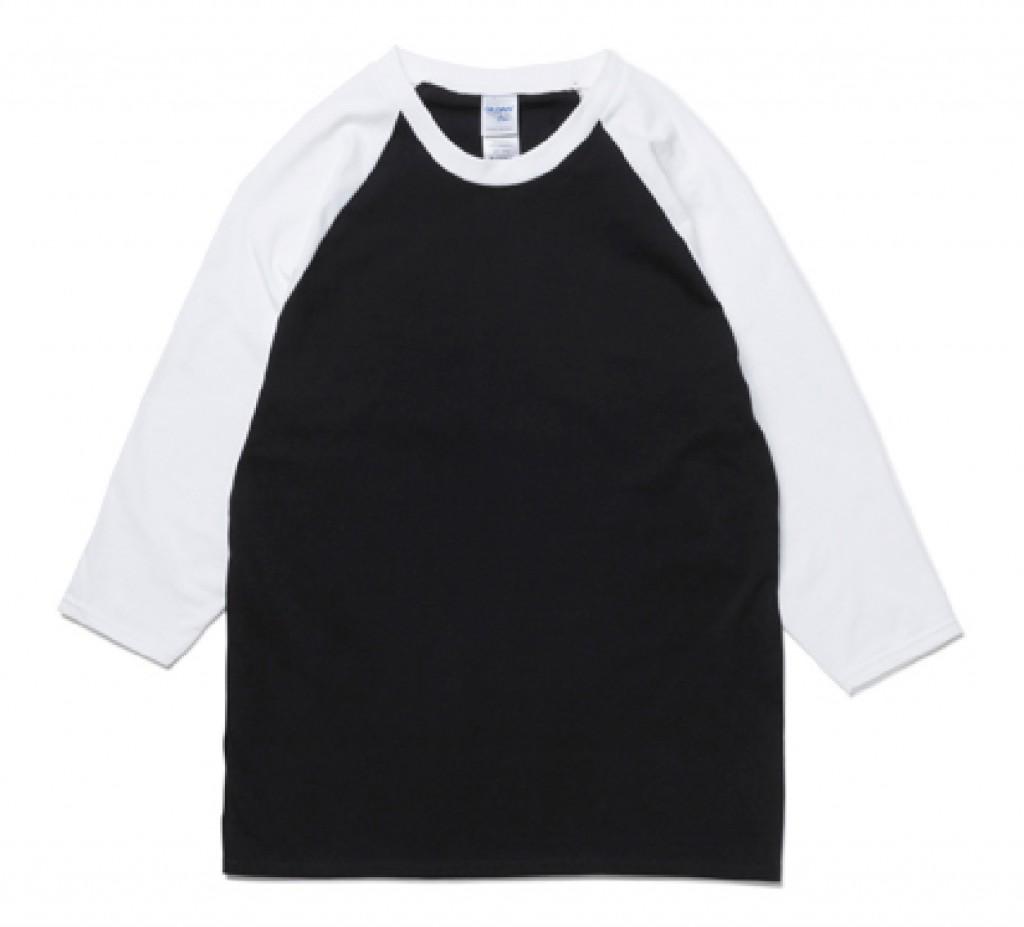 GIL76700  5.3oz 七分袖ラグランTシャツ