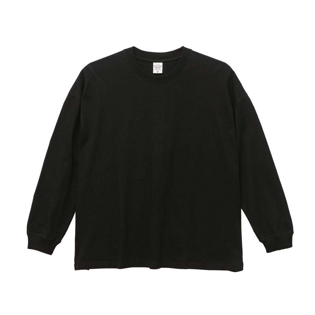 5019-01,  5.6オンス ビッグシルエットロングスリーブ Tシャツ