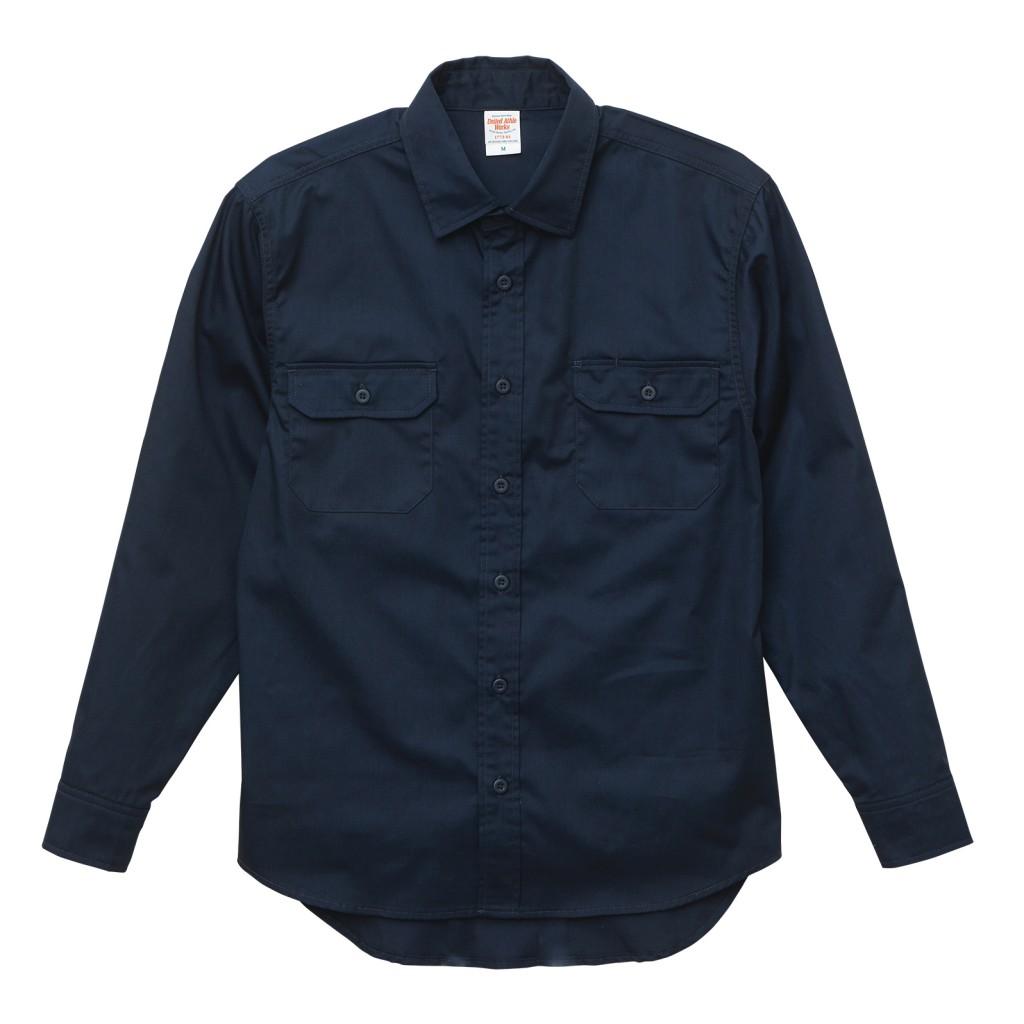1773-01 T/C ワークロングスリーブシャツ