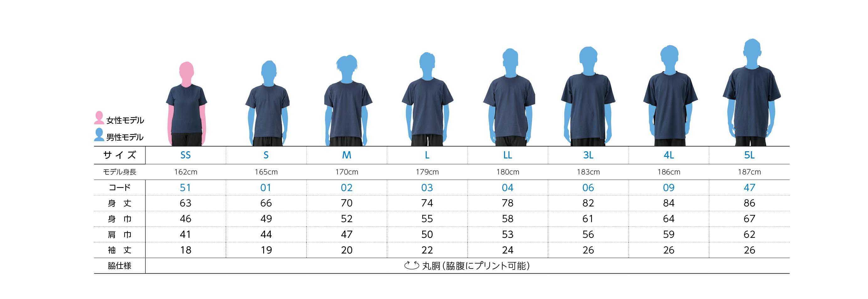 00117-VPT 5.8オンス TCクルーネックTシャツ