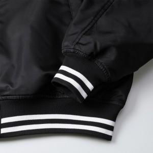 袖口と裾下はフィット感のあるリブ仕様、Color No.2001・4001はライン入りリブ仕上げ